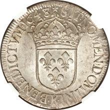 ルイ14世エキュ銀貨 2