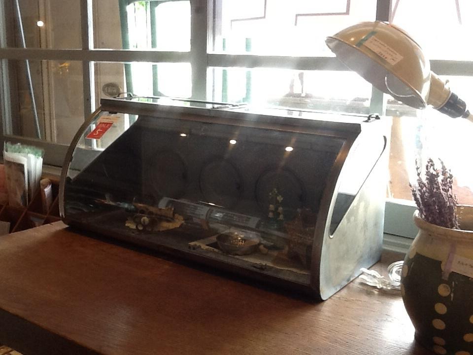 ショーケース ガラスケース レトロ 駄菓子屋
