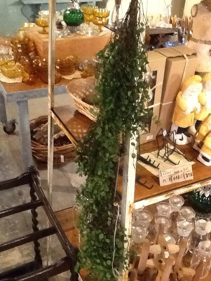 コ・リスタイル アンティーク 店舗什器 ドライフラワー ディスプレイ
