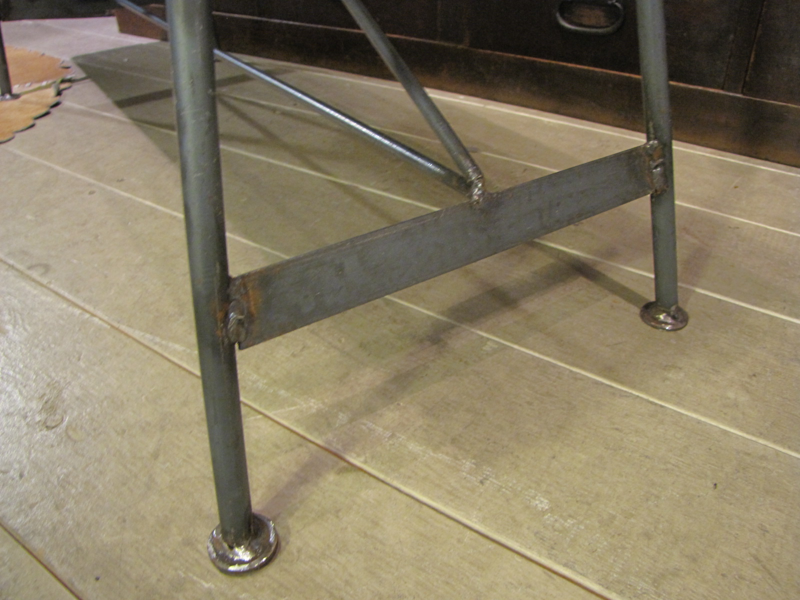 Re-design オリジナル鉄脚ベンチW100