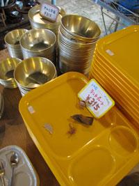 古道具 レトロ プレート ランチ 食器
