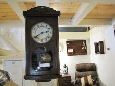 時計 古い レトロ 振り子 ボンボン時計