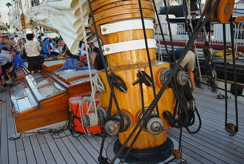 Fore Mast WInches