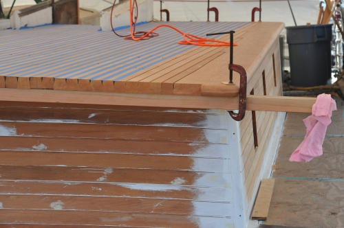 CA Thayer Deck House Repair