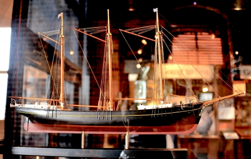 CA Thayer Model Ship