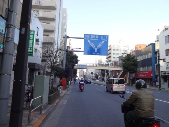 004右方向奥戸街道