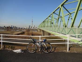 006木根川橋から荒サイにイン
