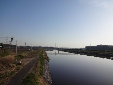 006新川、風がない