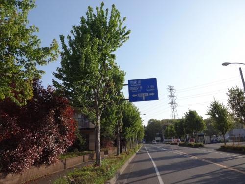 004ここを右折、御成街道を進む