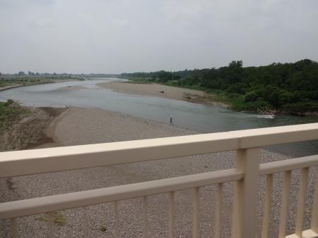 018砂ケ原橋を渡り、田川方面へ