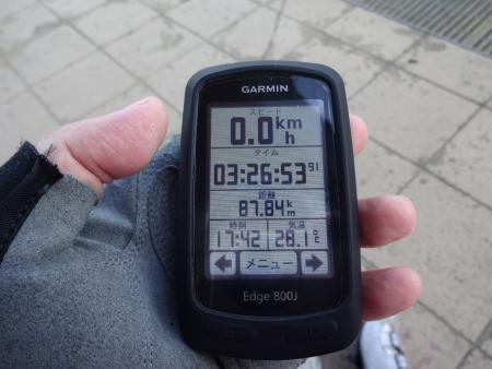 036時刻は6時前です、気温も一気に28℃に