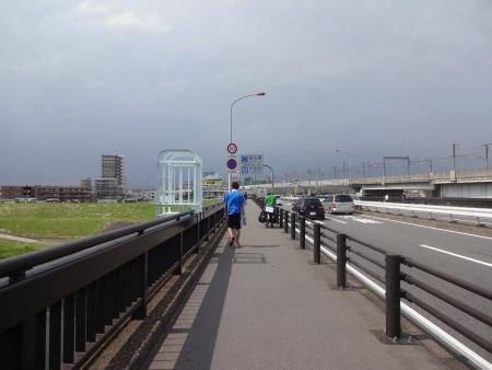 051荒川に到着、戸田市です