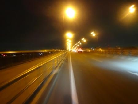 040手賀大橋に凱旋20時40分