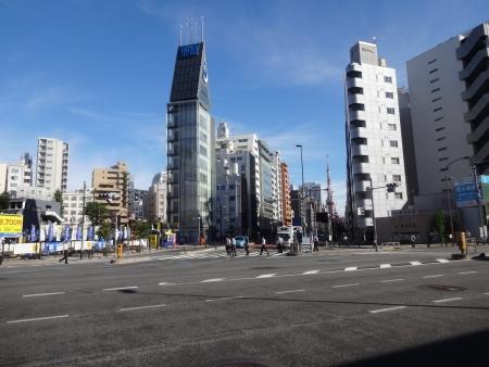 020第一京浜から東京タワー