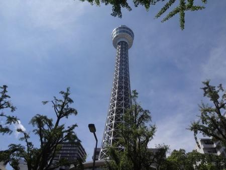 041横浜マリンタワー、出発は10時15分