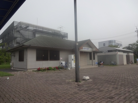 014大野休憩所です、そういえばいつも閉まっている売店