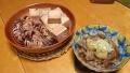 イカの煮物と牛すじ煮 20140511
