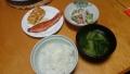 焼き鮭定食 20140512