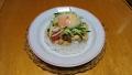 鶏肉とトマトの炒めご飯 20160916