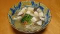 豆腐ときのこのあんかけスープ 20140629