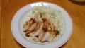 鶏の胸肉のしょうが焼き風 20140711
