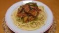 茄子のミートソーススパゲティ 20140726