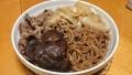こんにゃくと牛肉の煮物 20140805