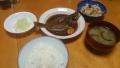 煮魚定食 20140808