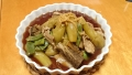 茄子とごぼうの生姜煮 20140901