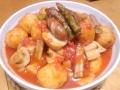 根菜のトマト煮 20140227