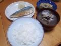 焼きサバ定食 20140303