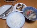 焼き魚定食 20140315