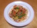 スパゲティ トマトソース 20140401