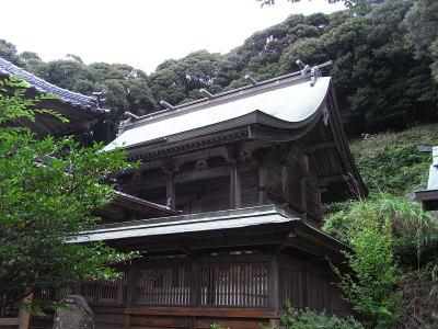 海神神社(わたつみじんじゃ・かいじんじんじゃ)御本殿