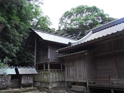 和多都美神社(わたづみじんじゃ)御本殿