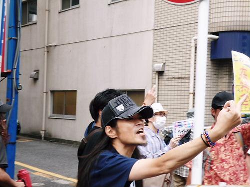 移民受け入れ断固反対デモ行進in西川口(平成26年5月25日)20140525橋本敦士