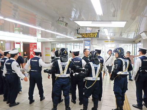 移民受け入れ断固反対デモ行進in西川口(平成26年5月25日)20140525