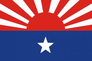 カレン民族解放軍の旗