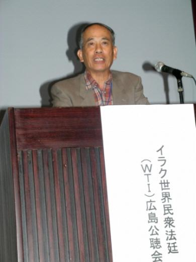 エセ被曝者の「語り部」森口貢\41_10_10irakukouchoukai09森口貢は、在韓被爆者訴訟で、1審敗訴の長崎市が控訴したことを批判した
