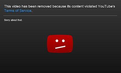削除された動画は