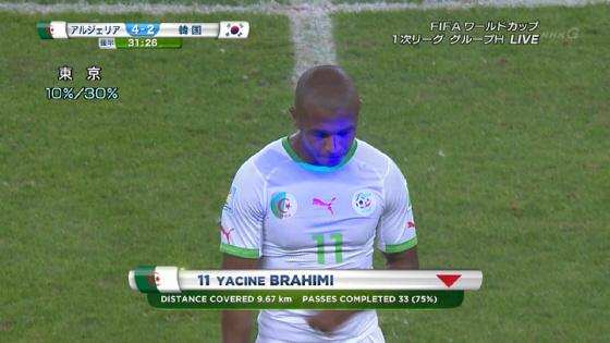 6月23日(日本時間)、FIFA ワールドカップ ブラジル2014【韓国×アルジェリア】2対4で、韓国サポーターがアルジェリア選手に対してレーザーポインターを使用!