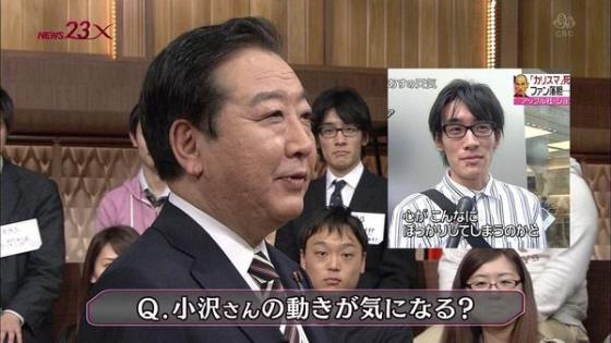 2012年4月TBSニュース23の仕込み・首相出演番組とジョブズ訃報のインタビューを受ける男