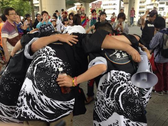 大阪パレード。男組。有田芳生