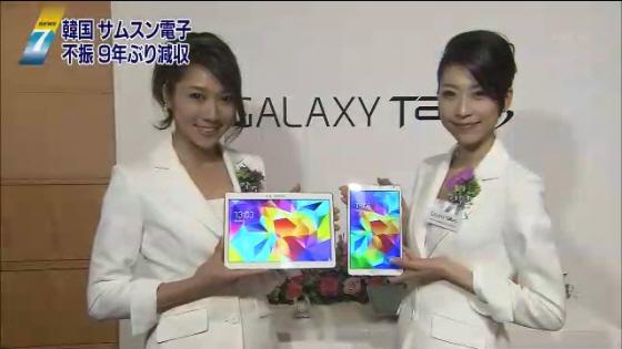 自社専門店で新型タブレット販売 NHKがニュース番組でサムスンの宣伝CM