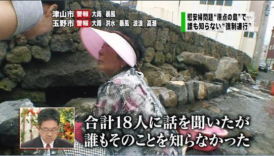 新報道2001韓国チェジュ島での聞き取り取材