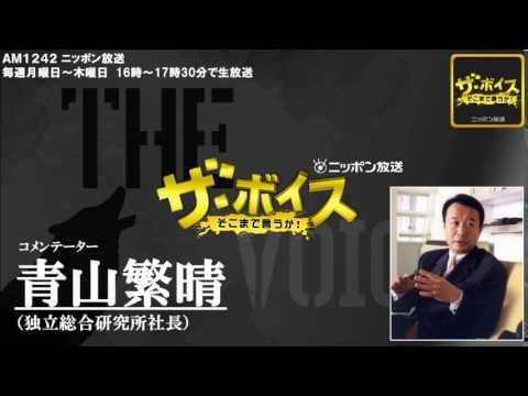 2014/08/07 ザ・ボイス 青山繁晴 ニュース解説