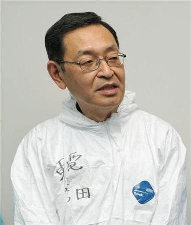 吉田所長、「全面撤退」明確に否定 福島第1原発事故