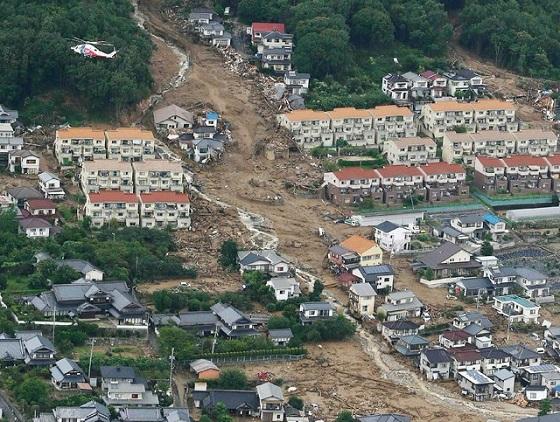 広島の土砂災害
