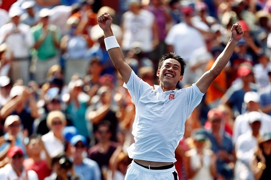Kei+Nishikori+2014+Open+Day+13+35ry30whV4Nx【テニス】錦織、世界1位ジョコビッチも撃破!ついに日本テニス初のグランドスラム決勝進出!-全米オープン