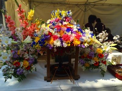 新井薬師の花祭り